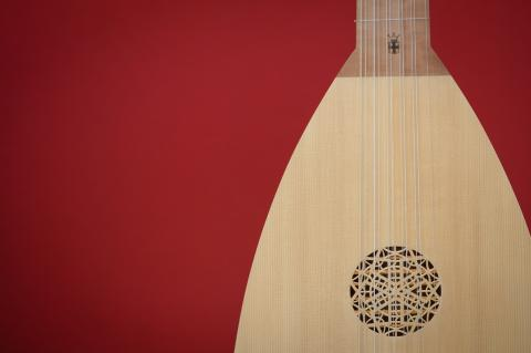 Lute by Bob van der Kerckhove - Photo: André Wagenzik