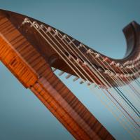 Italienische Renaissance Harfe von Rainer Thurau - Photo: André Wagenzik
