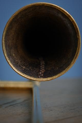 Renaissance Sackbut by Geert Jan van der Heide; Photo André Wagenzik