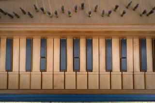 Italienisches Cembalo von Dietrich Hein - Photo: André Wagenzik